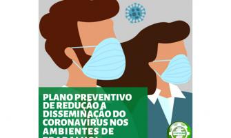PLANO PREVENTIVO DE REDUÇÃO A DISSEMINAÇÃO DO CORONAVÍRUS